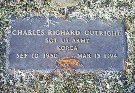 CUTRIGHT, CHARLES RICHARD - Ross County, Ohio | CHARLES RICHARD CUTRIGHT - Ohio Gravestone Photos