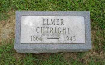 CUTRIGHT, ELMER - Ross County, Ohio | ELMER CUTRIGHT - Ohio Gravestone Photos