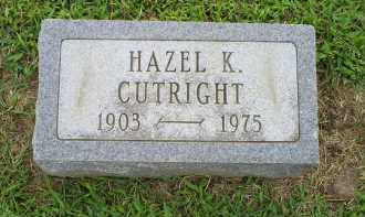CUTRIGHT, HAZEL K. - Ross County, Ohio | HAZEL K. CUTRIGHT - Ohio Gravestone Photos