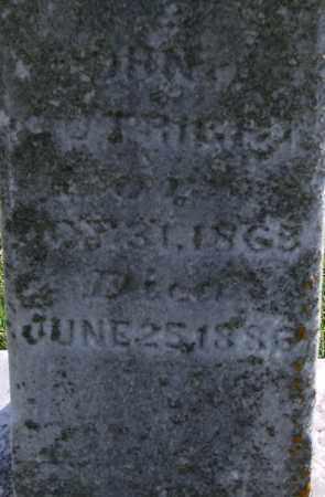 CUTRIGHT, JOHN - Ross County, Ohio | JOHN CUTRIGHT - Ohio Gravestone Photos