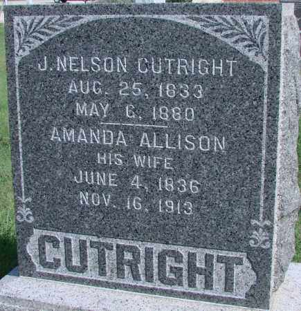 CUTRIGHT, AMANDA ALLISON - Ross County, Ohio | AMANDA ALLISON CUTRIGHT - Ohio Gravestone Photos