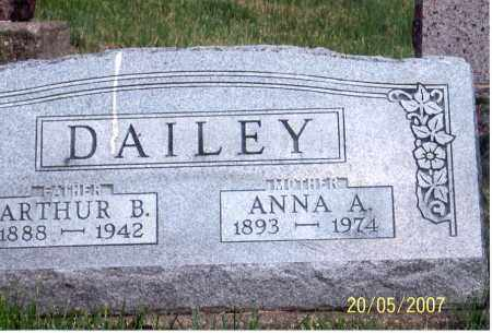 DAILEY, ANNA A. - Ross County, Ohio | ANNA A. DAILEY - Ohio Gravestone Photos