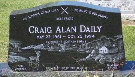 DAILY, CRAIG ALAN - Ross County, Ohio | CRAIG ALAN DAILY - Ohio Gravestone Photos