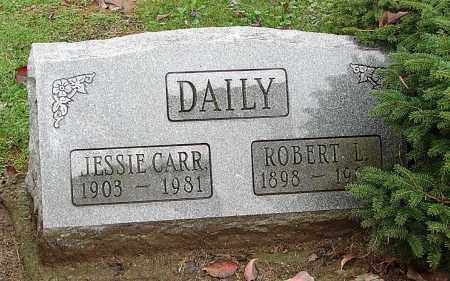 CARR DAILY BRUSH, JESSIE L - Ross County, Ohio | JESSIE L CARR DAILY BRUSH - Ohio Gravestone Photos