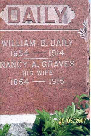 DAILY, WILLIAM B. - Ross County, Ohio | WILLIAM B. DAILY - Ohio Gravestone Photos