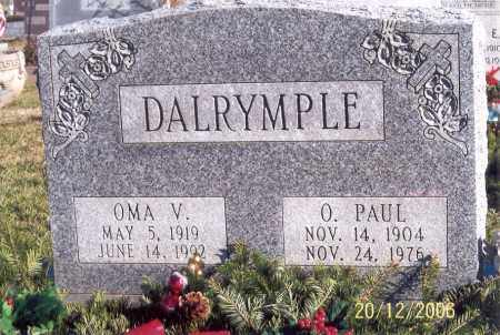 GRAVES DALRYMPLE, OMA VIOLA - Ross County, Ohio | OMA VIOLA GRAVES DALRYMPLE - Ohio Gravestone Photos