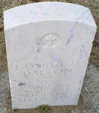 DALTON, GEORGE D. - Ross County, Ohio | GEORGE D. DALTON - Ohio Gravestone Photos