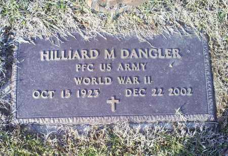 DANGLER, HILLIARD M. - Ross County, Ohio | HILLIARD M. DANGLER - Ohio Gravestone Photos