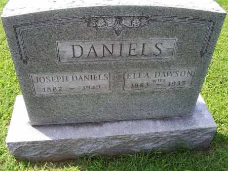 DANIELS, ELLA - Ross County, Ohio | ELLA DANIELS - Ohio Gravestone Photos