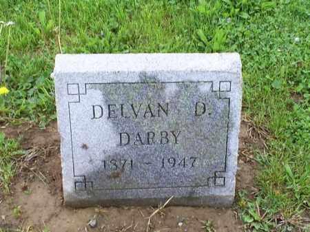 DARBY, DELVAN D. - Ross County, Ohio | DELVAN D. DARBY - Ohio Gravestone Photos