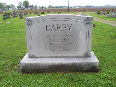 DARBY, EBBIE E. - Ross County, Ohio | EBBIE E. DARBY - Ohio Gravestone Photos