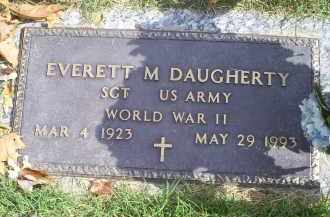 DAUGHERTY, EVERETT M. - Ross County, Ohio | EVERETT M. DAUGHERTY - Ohio Gravestone Photos