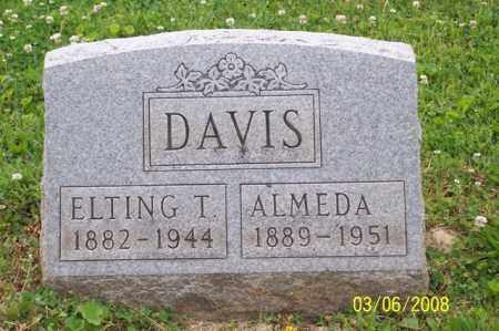 DAVIS, ELTING T. - Ross County, Ohio | ELTING T. DAVIS - Ohio Gravestone Photos