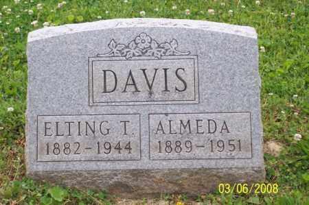DAVIS, ALMEDA - Ross County, Ohio | ALMEDA DAVIS - Ohio Gravestone Photos