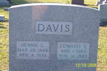 DAVIS, JENNIE L. - Ross County, Ohio | JENNIE L. DAVIS - Ohio Gravestone Photos