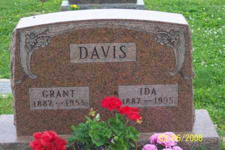 DAVIS, GRANT - Ross County, Ohio | GRANT DAVIS - Ohio Gravestone Photos