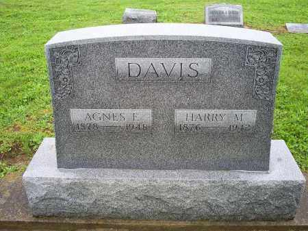 DAVIS, AGNES E. - Ross County, Ohio | AGNES E. DAVIS - Ohio Gravestone Photos