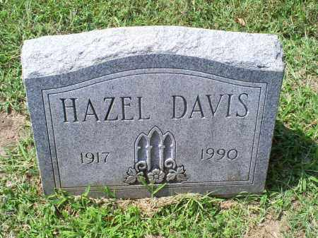 DAVIS, HAZEL - Ross County, Ohio | HAZEL DAVIS - Ohio Gravestone Photos