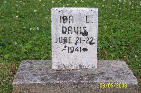 DAVIS, IDA L. - Ross County, Ohio | IDA L. DAVIS - Ohio Gravestone Photos