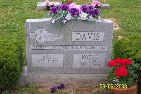 DAVIS, JOYCE E. - Ross County, Ohio | JOYCE E. DAVIS - Ohio Gravestone Photos