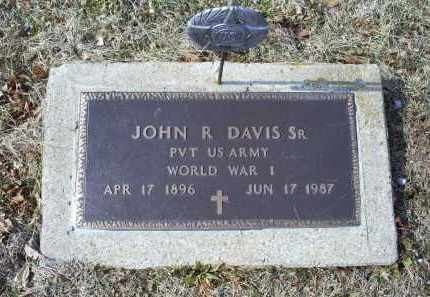 DAVIS, JOHN R. SR. - Ross County, Ohio | JOHN R. SR. DAVIS - Ohio Gravestone Photos