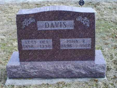 DAVIS, JOHN R. - Ross County, Ohio | JOHN R. DAVIS - Ohio Gravestone Photos
