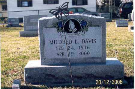 SNYDER DAVIS, MILDRED LUCILLE - Ross County, Ohio | MILDRED LUCILLE SNYDER DAVIS - Ohio Gravestone Photos