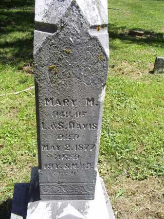 DAVIS, MARY M. - Ross County, Ohio | MARY M. DAVIS - Ohio Gravestone Photos