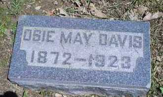 DAVIS, OSIE MAY - Ross County, Ohio | OSIE MAY DAVIS - Ohio Gravestone Photos
