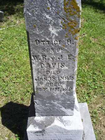 DAVIS, OTTICE O. - Ross County, Ohio | OTTICE O. DAVIS - Ohio Gravestone Photos