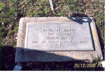 DAVIS, PAUL N. - Ross County, Ohio | PAUL N. DAVIS - Ohio Gravestone Photos