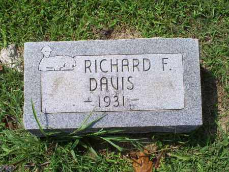 DAVIS, RICHARD F. - Ross County, Ohio | RICHARD F. DAVIS - Ohio Gravestone Photos