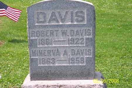 DAVIS, ROBERT W. - Ross County, Ohio | ROBERT W. DAVIS - Ohio Gravestone Photos