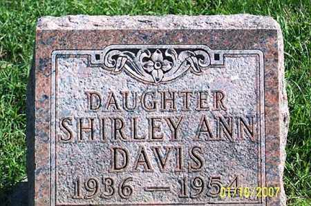 DAVIS, SHIRLEY ANN - Ross County, Ohio | SHIRLEY ANN DAVIS - Ohio Gravestone Photos