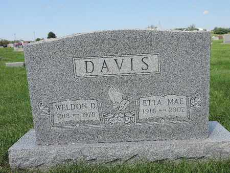 DAVIS, ETTA MAE - Ross County, Ohio | ETTA MAE DAVIS - Ohio Gravestone Photos