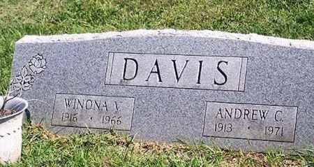 DAVIS, WINONA V. - Ross County, Ohio | WINONA V. DAVIS - Ohio Gravestone Photos