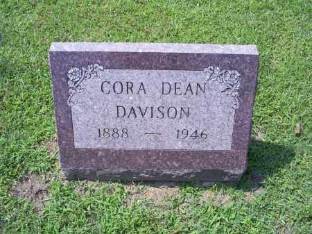 DAVISON, CORA DEAN - Ross County, Ohio | CORA DEAN DAVISON - Ohio Gravestone Photos