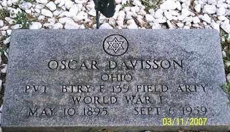 DAVISSON, OSCAR - Ross County, Ohio | OSCAR DAVISSON - Ohio Gravestone Photos
