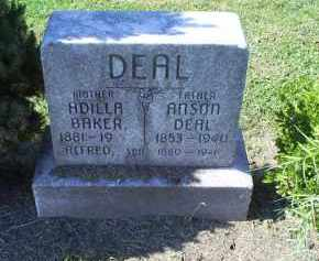 BAKER DEAL, ADILLA - Ross County, Ohio | ADILLA BAKER DEAL - Ohio Gravestone Photos