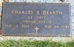 DEARTH, CHARLES E. - Ross County, Ohio | CHARLES E. DEARTH - Ohio Gravestone Photos