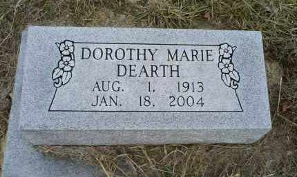 DEARTH, DOROTHY MARIE - Ross County, Ohio | DOROTHY MARIE DEARTH - Ohio Gravestone Photos