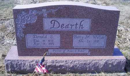 DEARTH, DONALD S. - Ross County, Ohio | DONALD S. DEARTH - Ohio Gravestone Photos