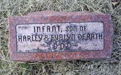 DEARTH, INFANT - Ross County, Ohio | INFANT DEARTH - Ohio Gravestone Photos