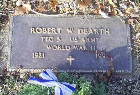 DEARTH, ROBERT W. - Ross County, Ohio | ROBERT W. DEARTH - Ohio Gravestone Photos