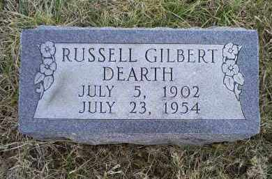 DEARTH, RUSSELL GILBERT - Ross County, Ohio | RUSSELL GILBERT DEARTH - Ohio Gravestone Photos