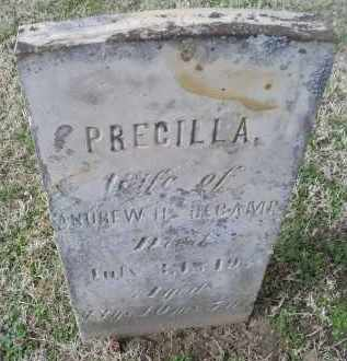 DECAMP, PRECILLA - Ross County, Ohio | PRECILLA DECAMP - Ohio Gravestone Photos
