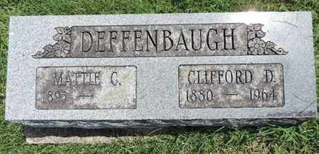 DEFFENBAUGH, MATTIE C - Ross County, Ohio | MATTIE C DEFFENBAUGH - Ohio Gravestone Photos