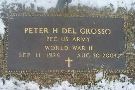 DEL GROSSO, PETER H. - Ross County, Ohio | PETER H. DEL GROSSO - Ohio Gravestone Photos