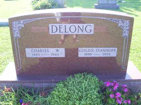 STANHOPE DELONG, GOLDIE - Ross County, Ohio | GOLDIE STANHOPE DELONG - Ohio Gravestone Photos
