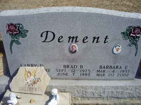 DEMENT, BRAD B. - Ross County, Ohio | BRAD B. DEMENT - Ohio Gravestone Photos